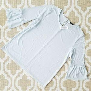NWT Ann Taylor Bell Sleeve Blouse